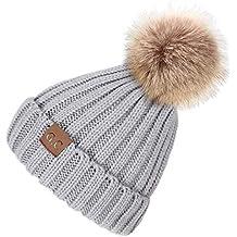 VAMEI 1pcs Sombreros de Invierno para bebé Gorros de Punto Gorro de Invierno  para bebé 391d7589f1e