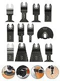 12tlg Sägeblätter Zubehör von Baban Multi-Tool Multifunktionswerkzeuge Set Multitools Werkzeug Elektrische Werkzeuge Für die meisten Modell