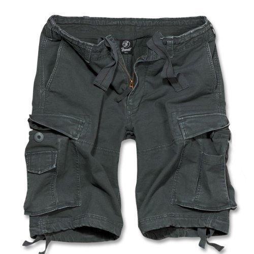 Brandit Textil GmbH Brandit Vintage Short Gr:- S, Farbe:-Anthrazit