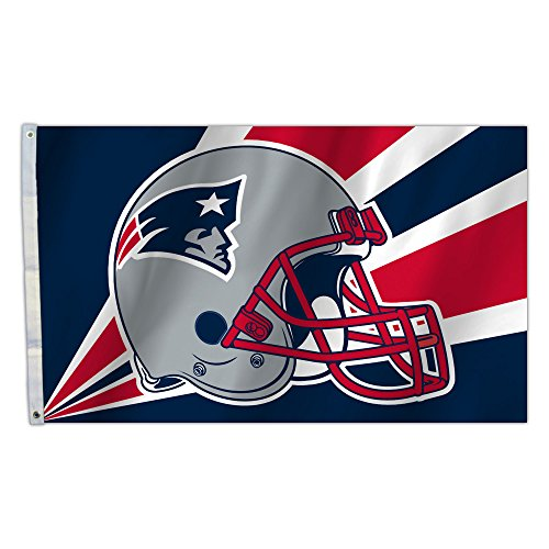 NFL New England Patriots 3-by-5-foot Flagge -