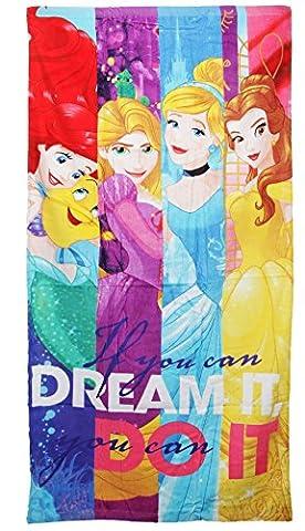Disney Princess 120x 60cm offizielles Badetuch & Strandtuch Charakter Kinder Handtuch