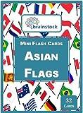 #5: Asian Flags Mini Flash Cards - Brainstock Flash Cards