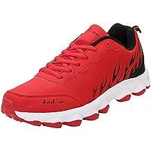BenSports Rojo Zapatillas de Deporte Trail Running de Hombre Pare mujor