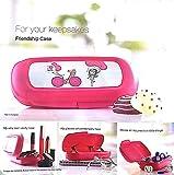 #4: Tupperware Pink Polypropylene T Bar Kepper Snack Box