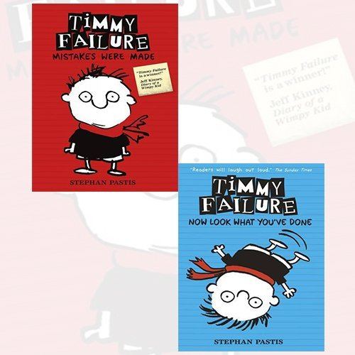 Stephan Pastis Timmy Failure 2 Books Bundle Collection (Timmy Failure: Mistakes Were Made,Timmy Failure: Now Look What You've Done)