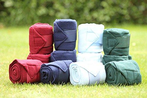 Fleecebandagen, Wickelbandagen, Fleece Bandagen mit Klett 3m tolle Farben!!!