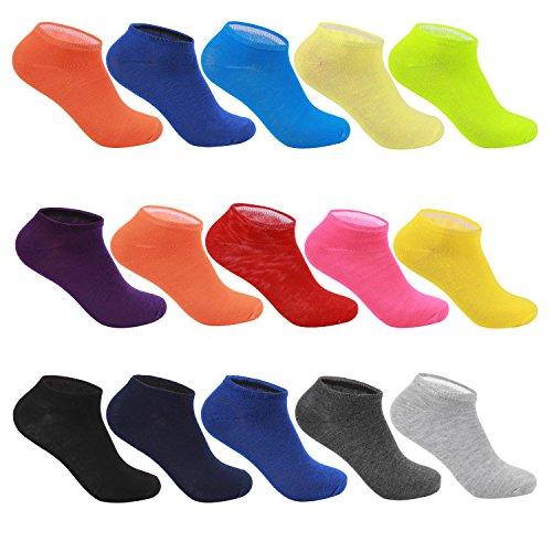 10-Paar-LK-HerrenDamen-Sneaker-Socken-2101H-in-verschiedenen-Farbset