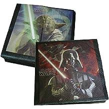 Riethmüller Star Wars - Servilletas para cumpleaños con diseño de Star Wars (20 unidades)