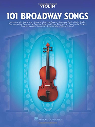 101 Broadway Songs: Violin
