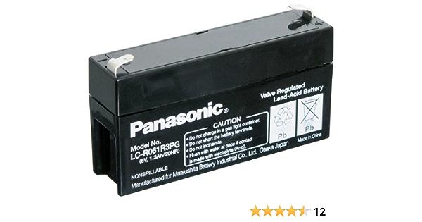 Panasonic Lc R061r3pg Blei Akku 187 Faston 4 8mm