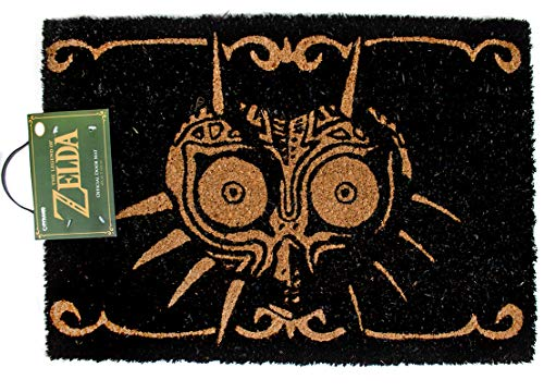 The Legend of Zelda Majoras Mask Black Felpudo 60x40cm