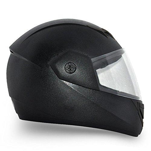 Vega Cliff CLF-AR-LK_L Air Full Face Helmet (Black, L)