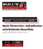 Bull's Dart Abwurflinie Basic Markierung Dartline