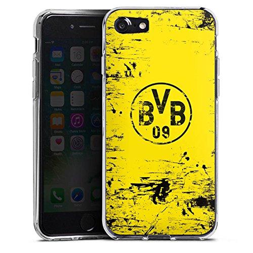 Apple iPhone 6 Plus Hülle Case Handyhülle Borussia Dortmund BVB Fanartikel Silikon Case transparent