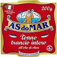 Asdomar Trancio Intero di Tonno all' Olio di Oliva,