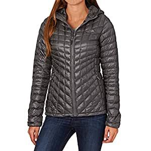 The North Face Damen W Thermoball Hoodie-EU Jacke, Grau-Rabbit Grey, XS