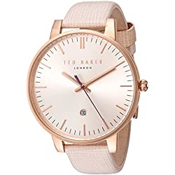 Ted baker- Ladies Rosa Gold Pink Strap Watch