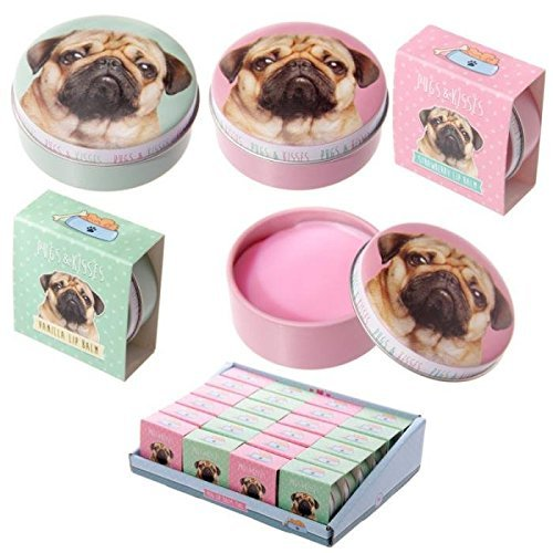 Lip Gloss Tin - Cute Pug Design by Subitodisponibile