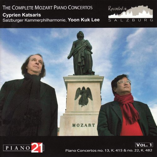The Complete Mozart Piano Concertos Vol. 1, No. 13, K. 415 & No. 22, K. 482