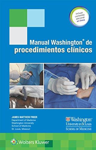 Manual Washington de procedimientos clínicos por James Freer