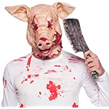 Folat Horror Máscara de Látex famowesta Cerdo Halloween