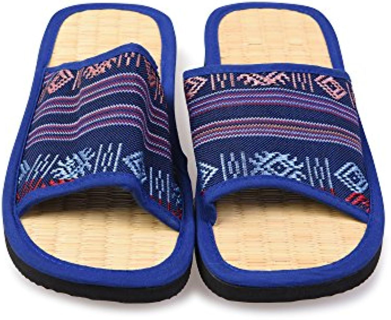 Estudio de Yoga Mujeres Zapatillas de Canela, Azul, 4 UK