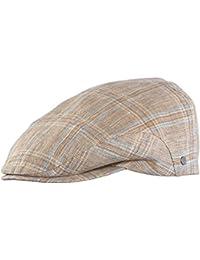 Wegener - Herren - Schirmmütze Leinenmütze Flatcap Schiebermütze - 7725