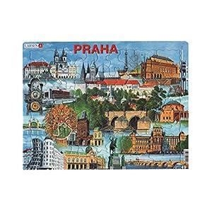 Larsen kh12Marco Puzzle Praga con monumentos de 66Piezas