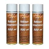 3x 500ml Spray Profi Hohlraumkonservierung