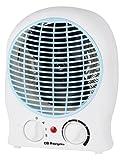 Orbegozo FH 5525 – Calefactor de aire eléctrico, 2000 W de potencia, 2 niveles de funcionamiento y modo ventilador