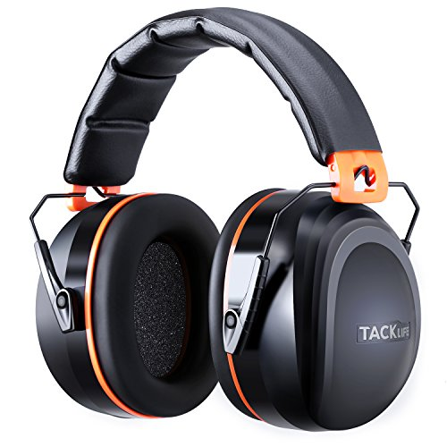 Casque Antibruit Tacklife HNRE1 Classique /Casque à Réduction du Bruit /SNR 34db /Protection Auditve /Certification CE...