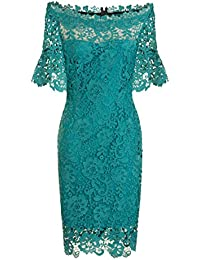 Paper Dolls Womens/Ladies Jade Bardot Dress