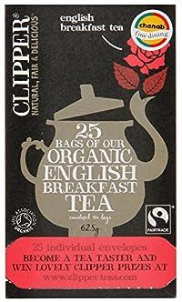 Clipper Organic English Breakfast (Enveloped Tea Bags), 62.5g