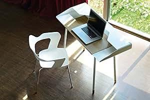 Radius Design Miss Moneypenny Schreibtisch mit Stuhl MU weiss - 755 B+120 E