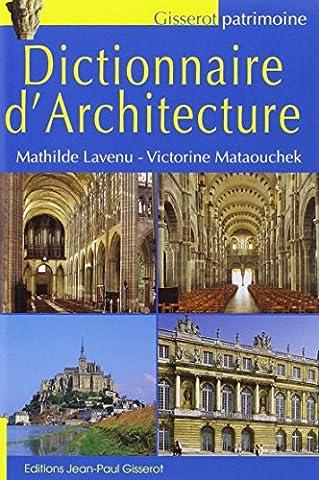 Dictionnaire d'architecture NOUVELLE