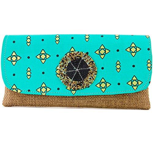 Scola Handtasche Clutch, Handarbeit, modisches Design für alle Anlässe, Envelop Slim Style