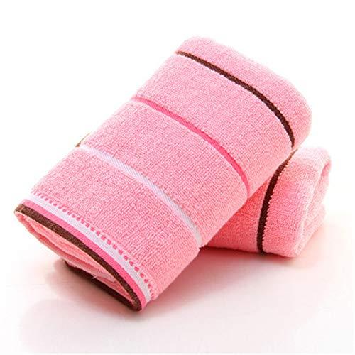 XIAOAO Baumwolle saugfähigen Handtuch Haushalt Erwachsene weiches Gesicht Handtuch Satin Schal (Satin-stretch-robe)
