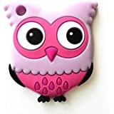 Leoie Baby Cute Cartoon Animal Teether Toys Vivid Color Educational Toy Gifts For Baby Owl Purple