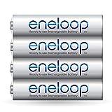 #10: Panasonic Battery Eneloop Shrink BK-4MCCE/4SN AAA Rechargable Battery - Pack of 4 (Multicolor)