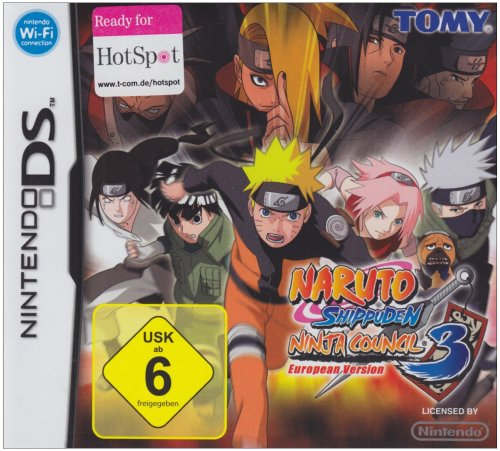Naruto - Shippuden Ninja Council 3 (European Version) (Naruto Shippuden-ds-spiele)