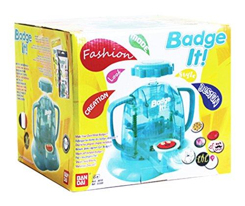Ban Dai - Kit creativo Maxi con 45 placas, color azul (33303)
