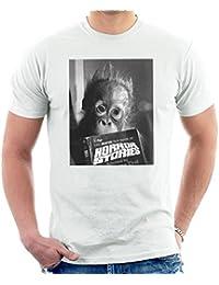 Mirrorpix Apparel Orangutan Reading Horror Stories 1974 Men's T-Shirt