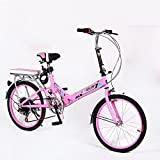 Best Folding Bicycles - XQ XQ164URE 20 Inches Folding Bike 6 Speed Review