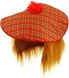 Scottish Hat - Tam O Shanter with Hair