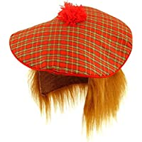 Scottish Hat - Tam O Shanter with Hair
