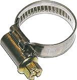 Dresselhaus 0/4647/000/ 8/ 12/ /74 - Norma abrazaderas de manguera, la banda y carcasa de acero inoxidable con galvanizado Gusano 6-Tube Tornillo ranurado, 8 x 12 mm, 100 piezas