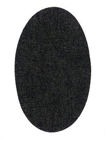 6 knieschoner Dark Denim zum Aufbügeln Farbe 22. Knieschützer Schutz Hose