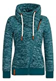 Naketano Female Zipped Jacket Jüberagend Woodland Melange, L