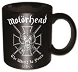 Motorhead - Iron Cross (The World Is Yours) Boxed Mug - Tasse im Geschenkkarton