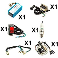 BEESCLOVER Special Motorcycle Digital Ignition CDI Unit for Suzuki AN125//HS125